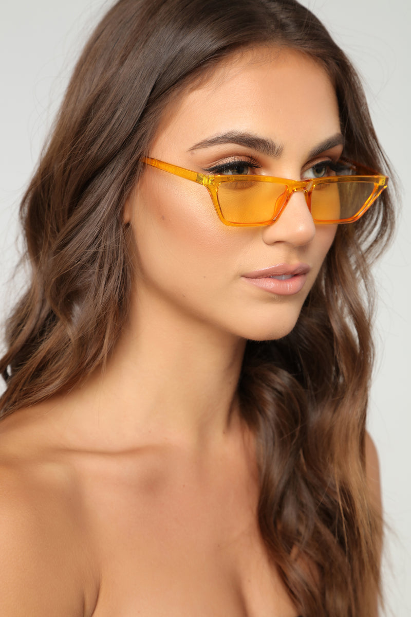 The Whiskers Sunglasses - Yellow