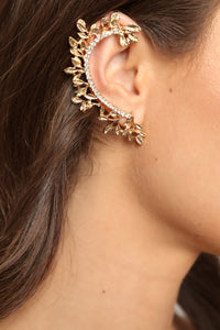 Ember Ear Cuff - Gold Angle 1