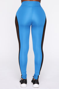 Finesse My Way Leggings - Blue/combo Angle 6