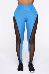 Finesse My Way Leggings - Blue/combo Angle 3