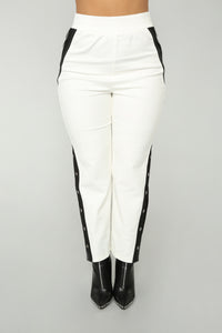Ginger Snap Pants - White