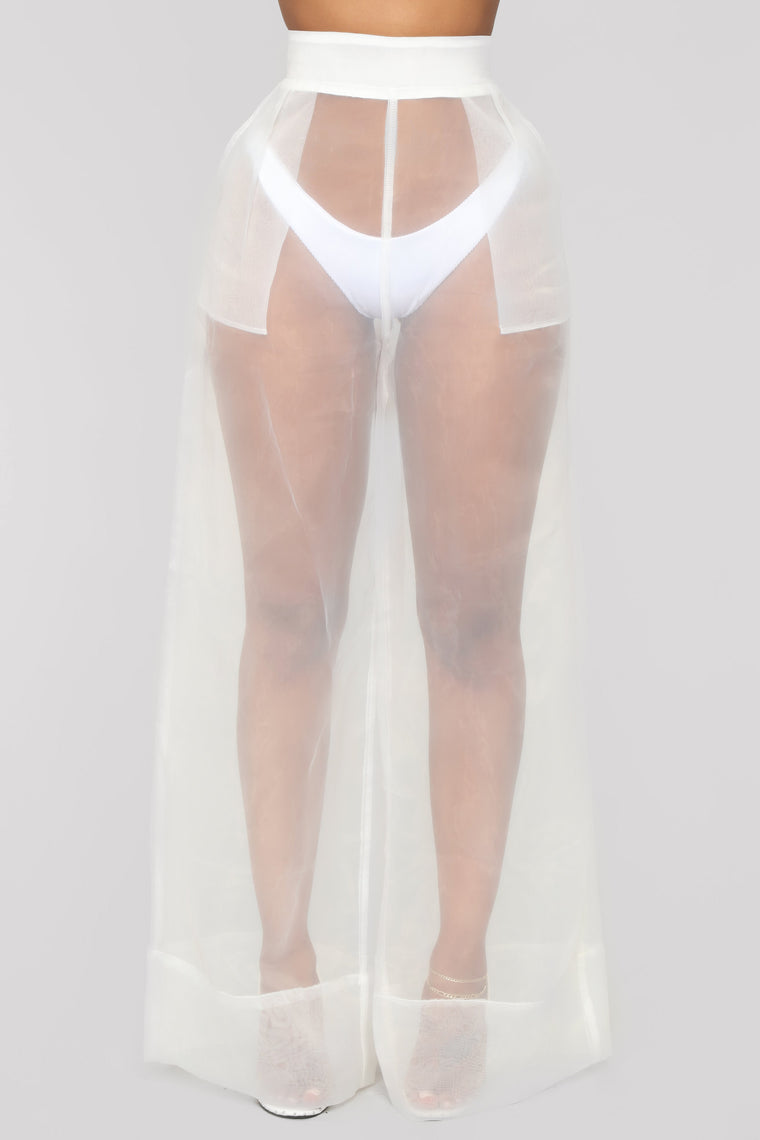 Nothing To Hide Pant Set - White