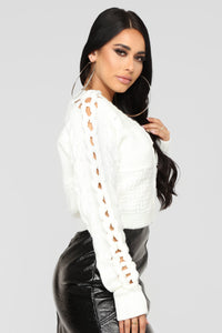 Right For Me Cardigan - Ivory