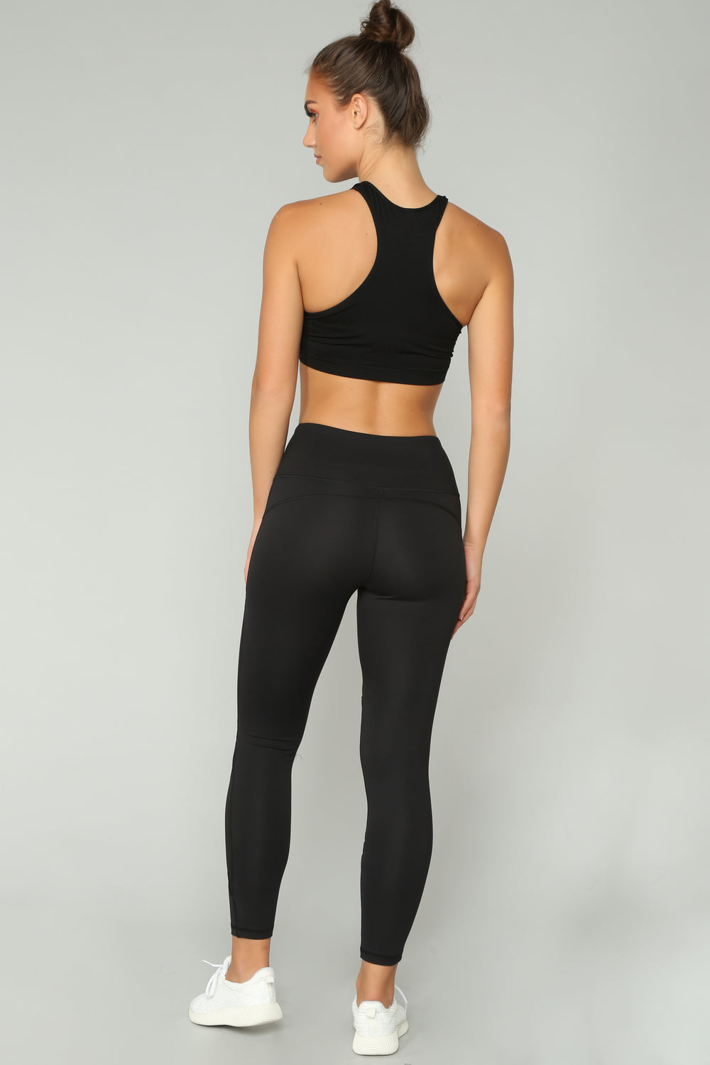 Anastacia High Rise Leggings - Black