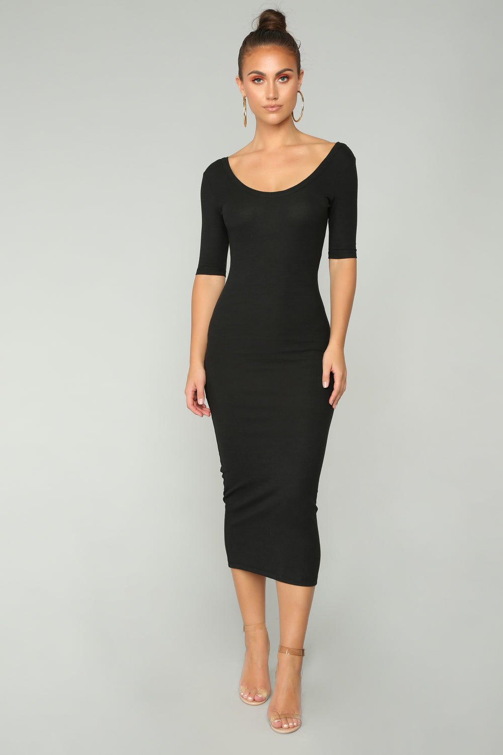 Cathleen Dress - Black
