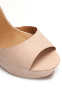 You Could Have It All Heel - Taupe