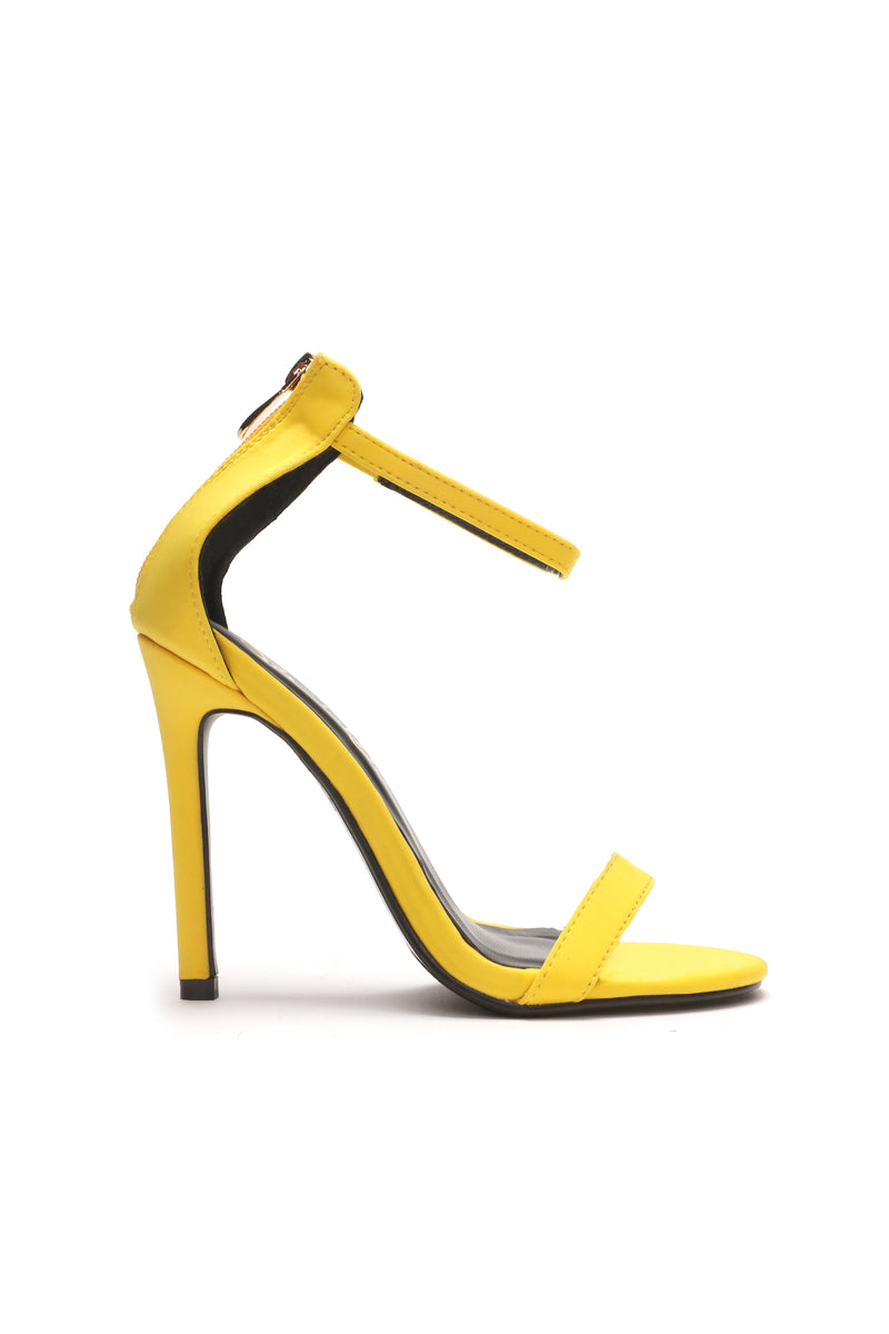 Ever Going To Let Me Know Heel - Yellow