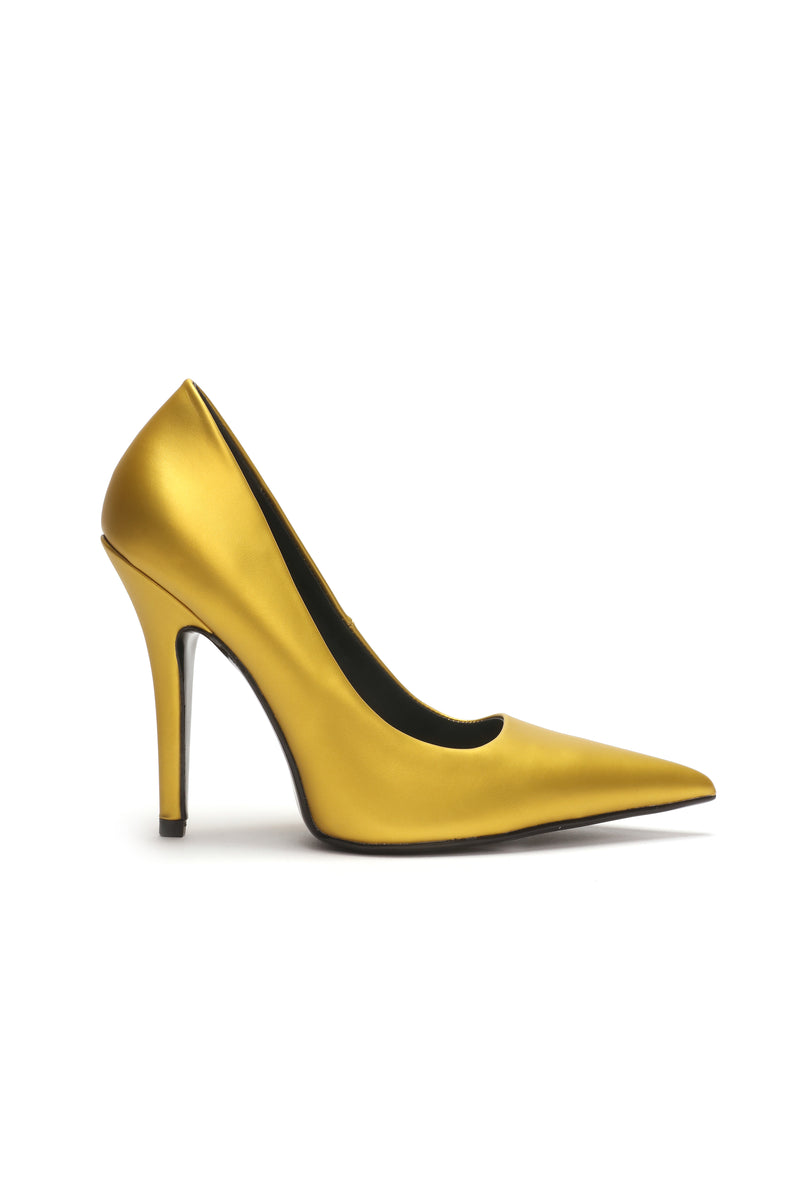 Give You What You Need Pumps - Yellow