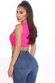 Touch Of Sass Bodysuit - Fuchsia