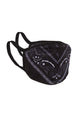 We Rise Bandana Facial Mask - Black