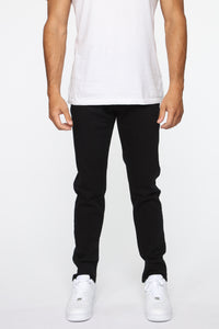 Crosby Slim Tapered Jeans - Black Angle 1