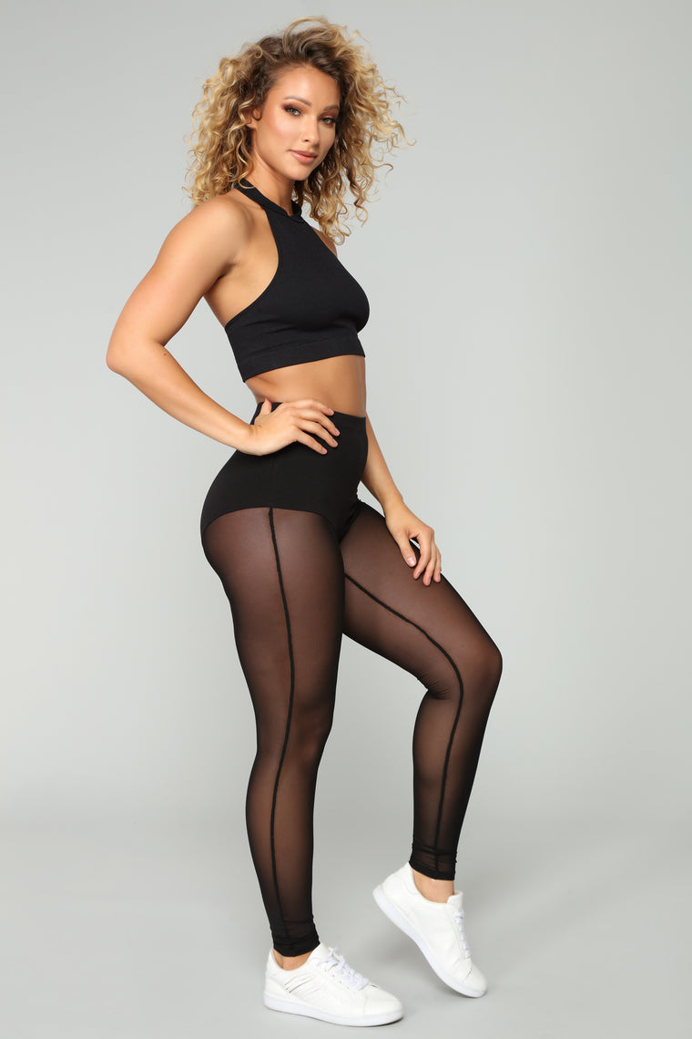 Everlee Active Leggings - Black