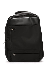 Patched Backpack - Black