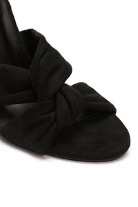 Left You Lonely Heels - Black