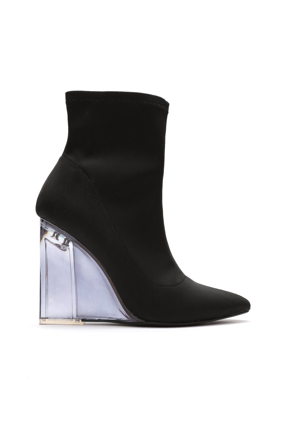 Out Of Line Bootie - Black