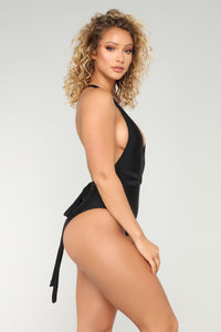 Different Directions Swimsuit - Black