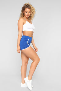 Always On The Move Shorts - Royal