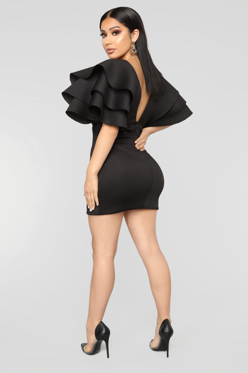 After Party Affair Mini Dress - Black d2c4855e4