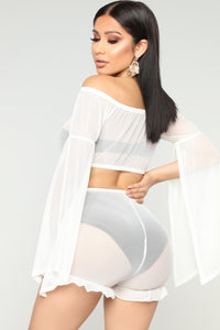 Simply Sweet Cover-Up Set - Off White