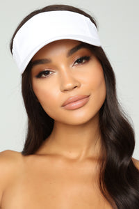 I Need Your Ad Visor - White
