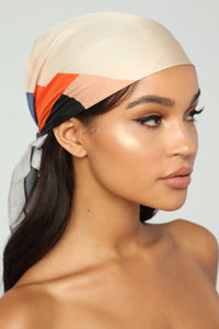 New Girl On The Block Head Scarf - Orange