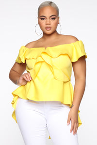 The Thrill Top - Yellow