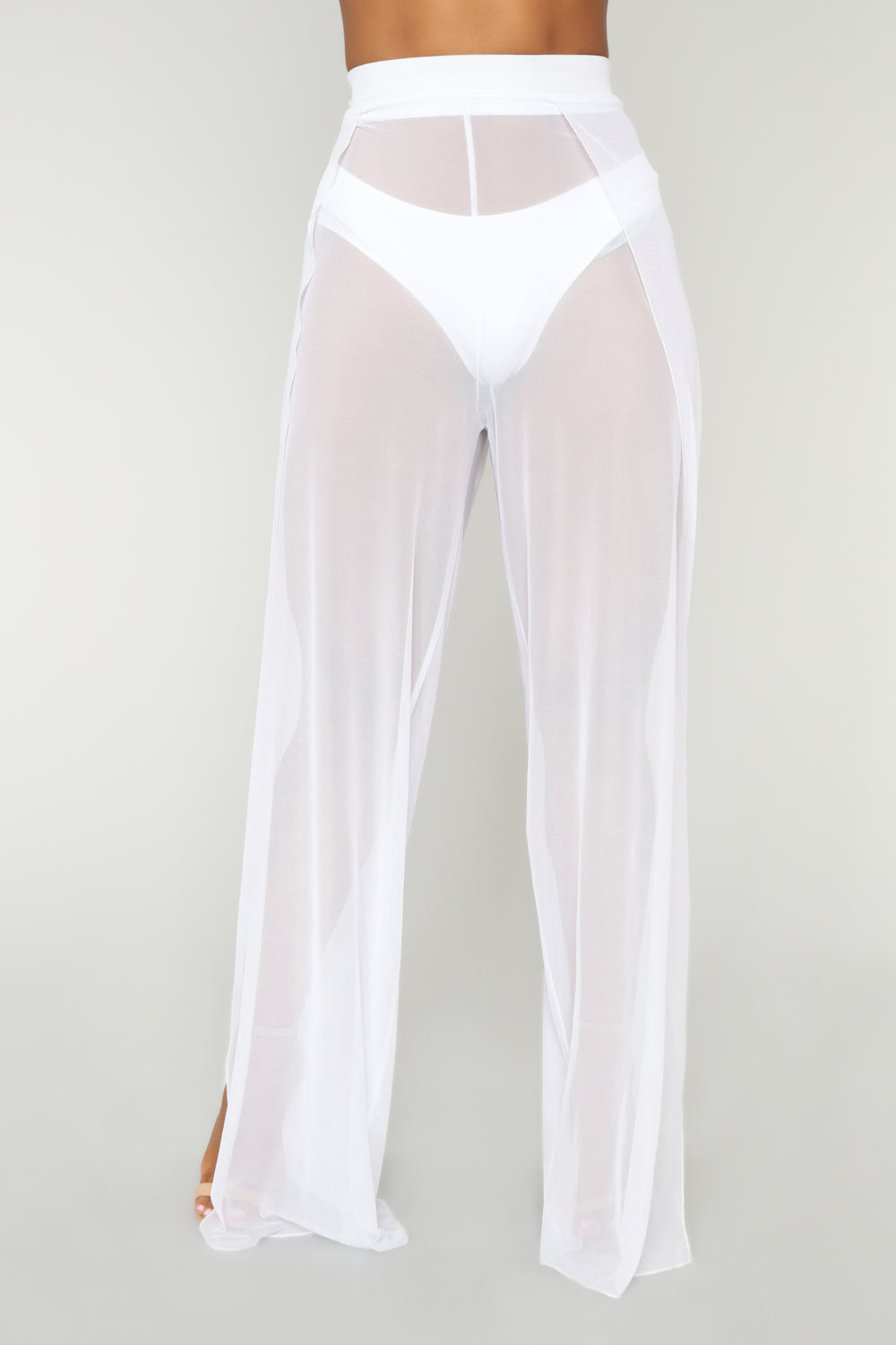 Among The Coast Cover-Up Pant - White
