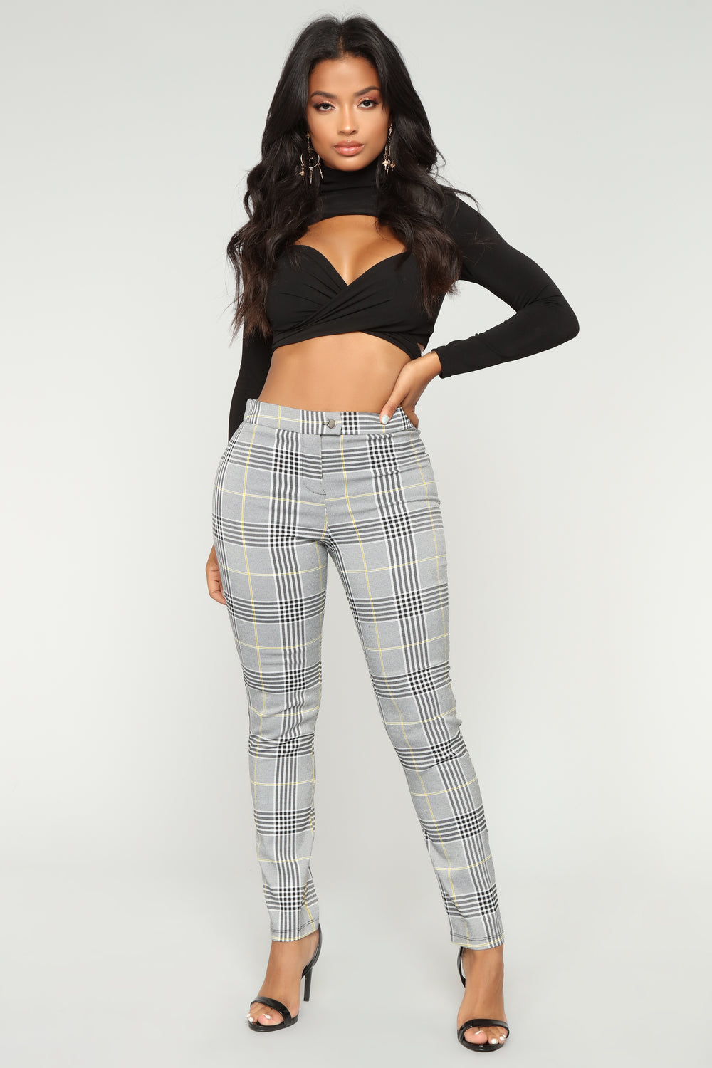 On That Grind Pants - Black/White