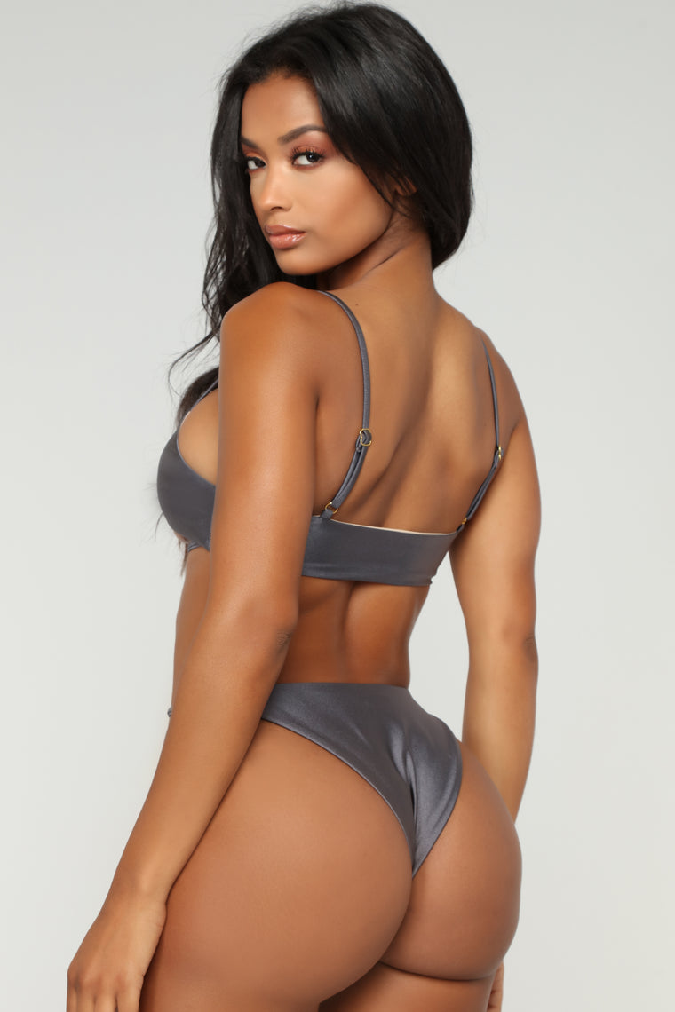 In The Tanning Mood Bikini - Grey