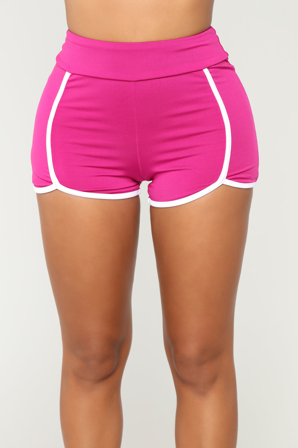 Always On The Move Shorts - Magenta