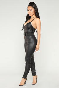 Sexy Can I Jumpsuit - Black