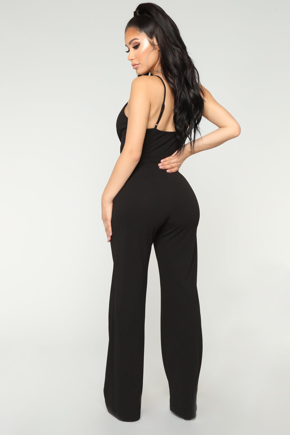 Simply The Best Jumpsuit - Black