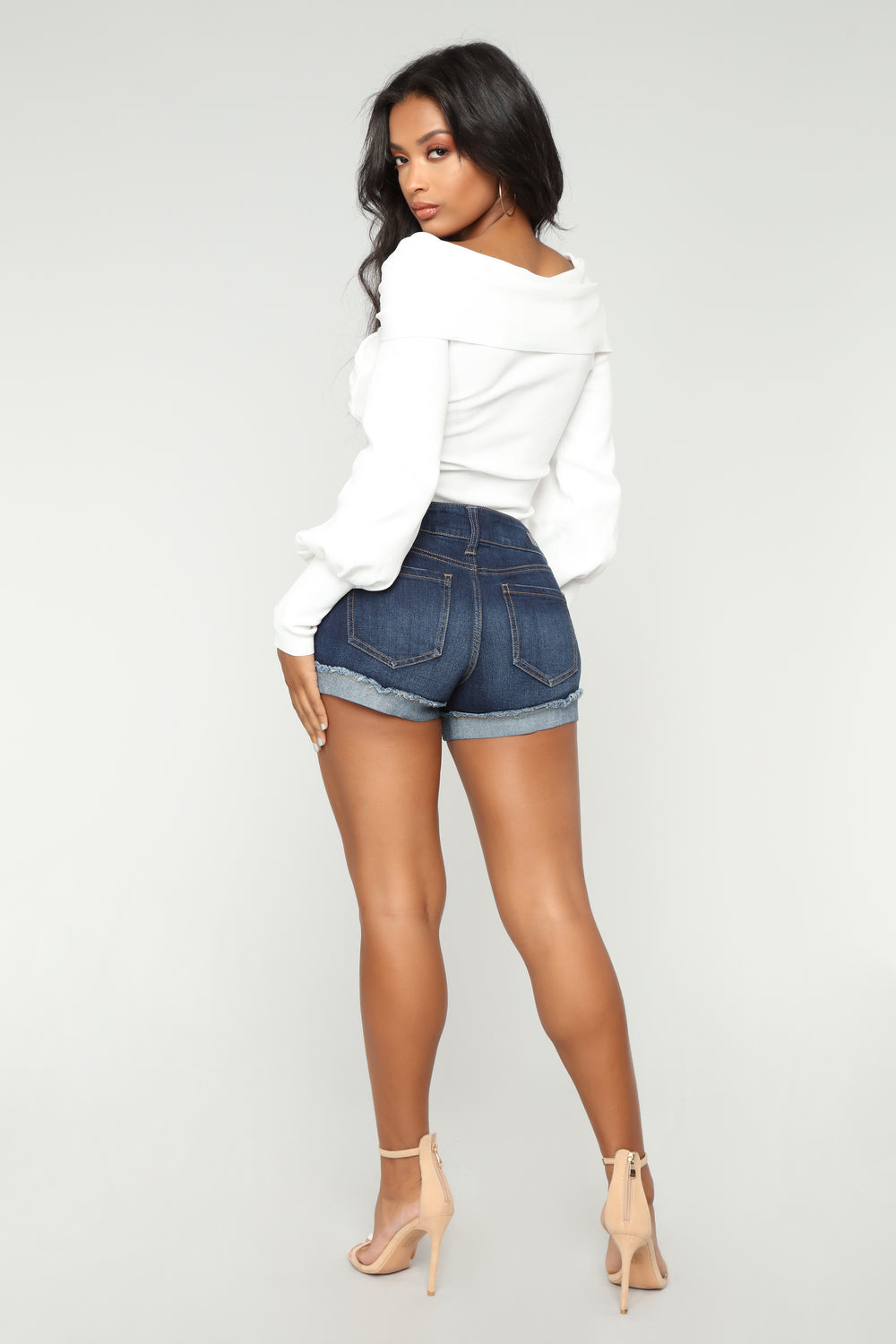 Moody Babe Sweater - White