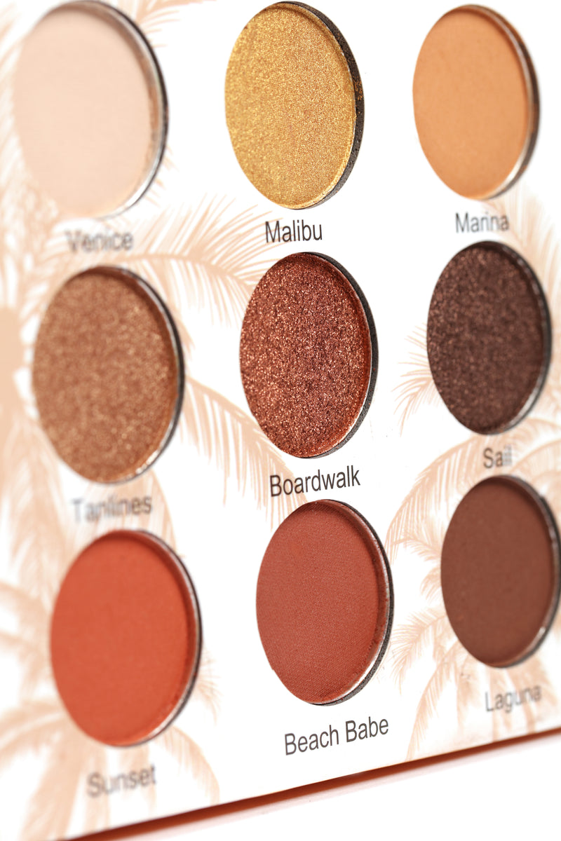 Beauty Creations Cali Chic Eyeshadow Palette - Orange
