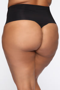 Peachy Soft Shape Wear - Black