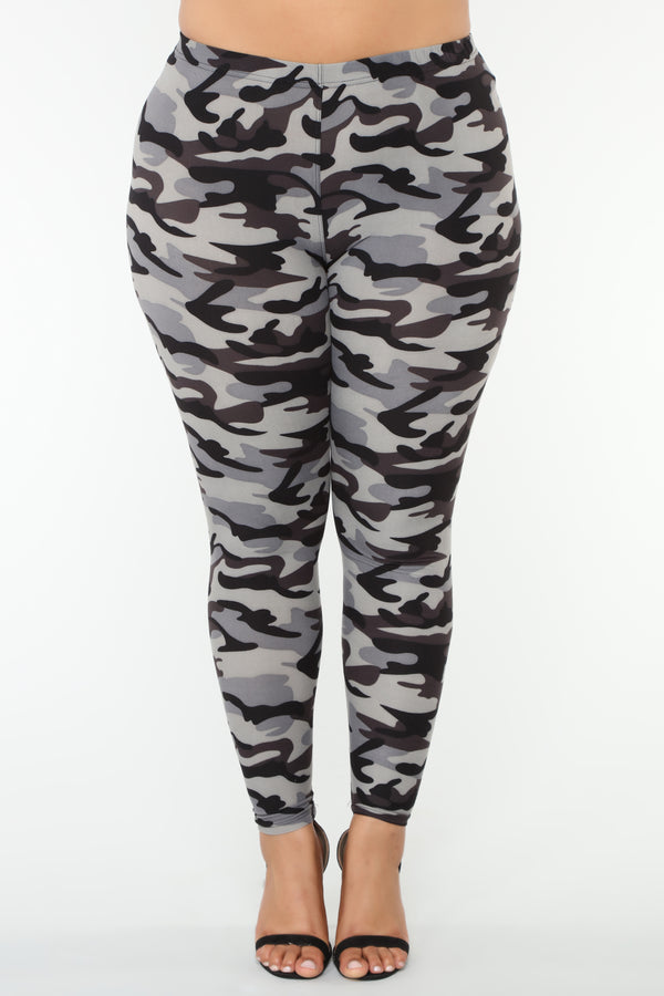c05fd84c6d931 The Hide Out Leggings - Camo
