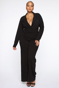 It's Business Bodysuit - Black Angle 9