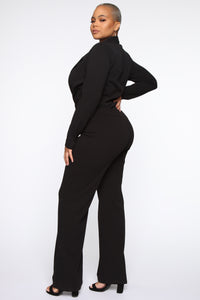 It's Business Bodysuit - Black Angle 11