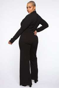 It's Business Bodysuit - Black Angle 12