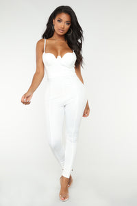 Rita Jumpsuit - White