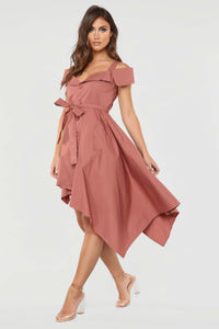 Perfect Day Date Dress - Mauve