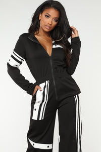 Audrey Active Jumpsuit - Black