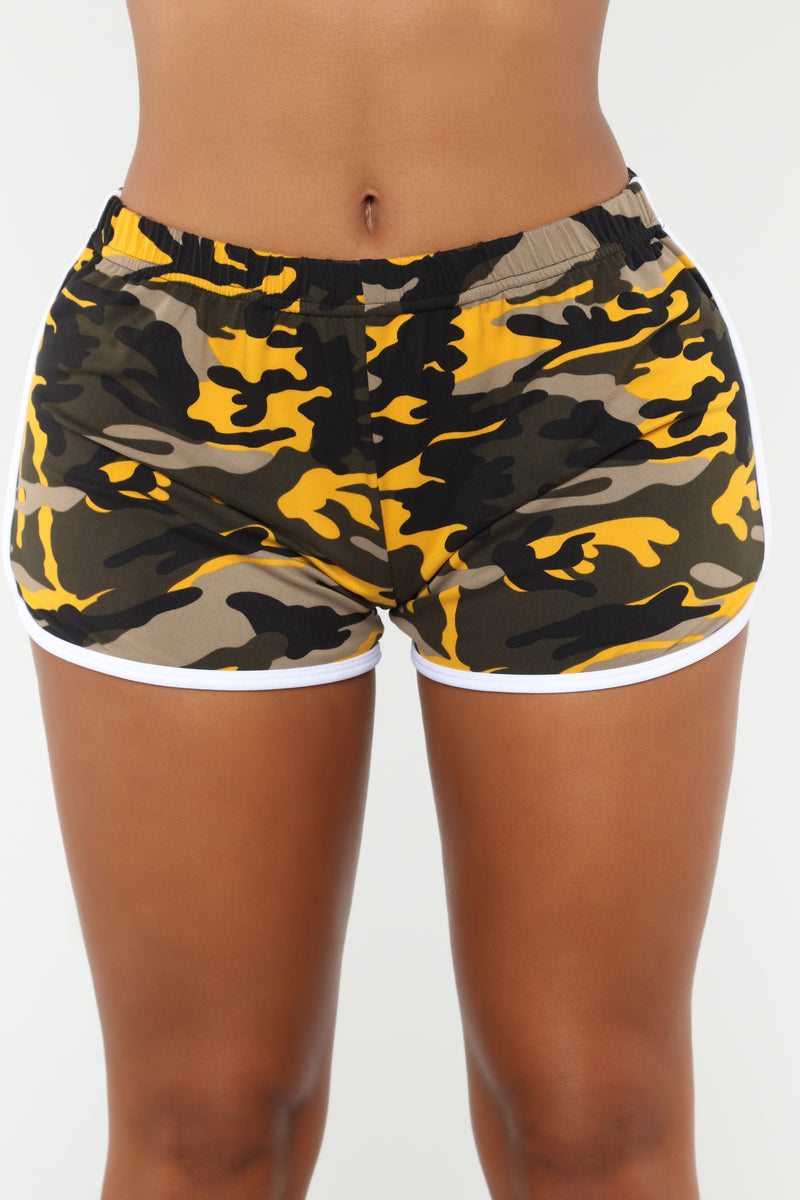 Come Through Camo Set - Yellow