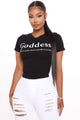 Define Goddess Top - Black