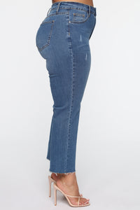 Born Lucky Jeans - Medium Blue Wash Angle 3