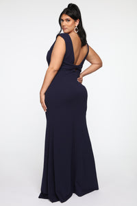 One Special Night Gown - Navy