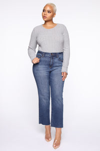 Maddy Sweater - Heather Grey