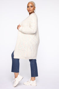 Sprinkle Of Love Cardigan - White/combo