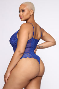 Love Sense Chica Teddy - Royal Blue