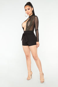 Misbehaved Bodysuit - Black